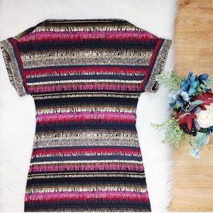Trina Turk Pink Black Striped Comfortable 235